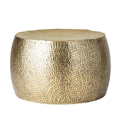 Tavolino in metallo ottone