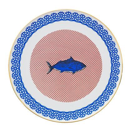 Piatto da portata in porcellana Bel Paese