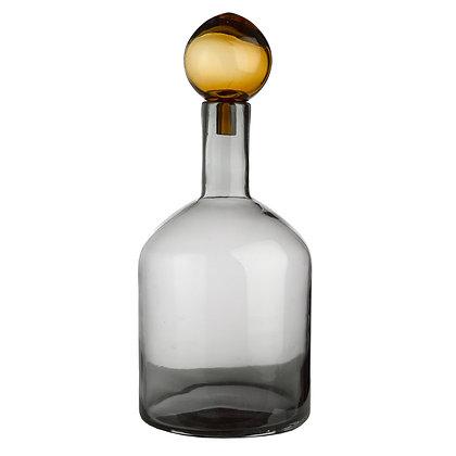 Bottiglia decorativa di vetro colorato