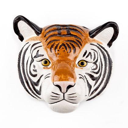 Vaso da parete in ceramica tigre