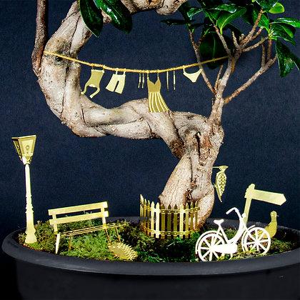 Decoro per piante bicicletta