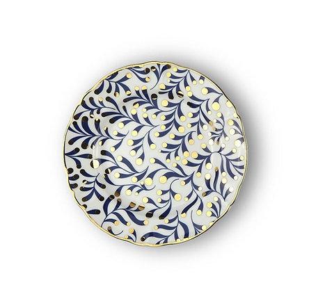 Piatto da dessert in porcellana ABRACADABRA
