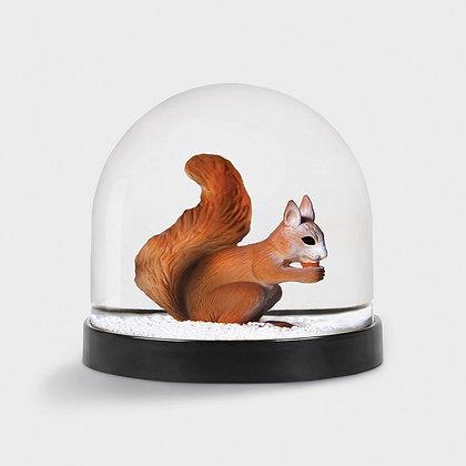 Wonderball palla di neve scoiattolo
