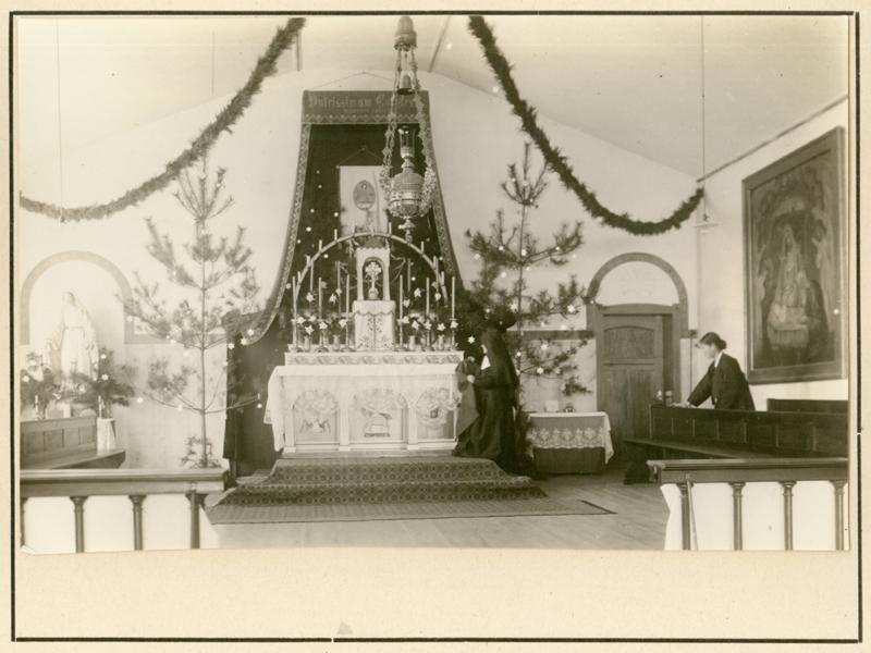 원산수녀원성당 성탄