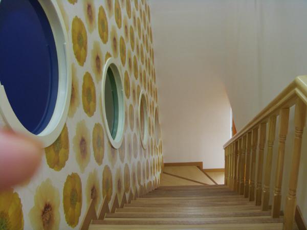 성남 자활 책이랑 2층계단