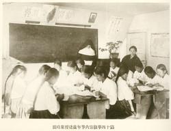 12 원산해성보통학교6학년재봉수업_1928년