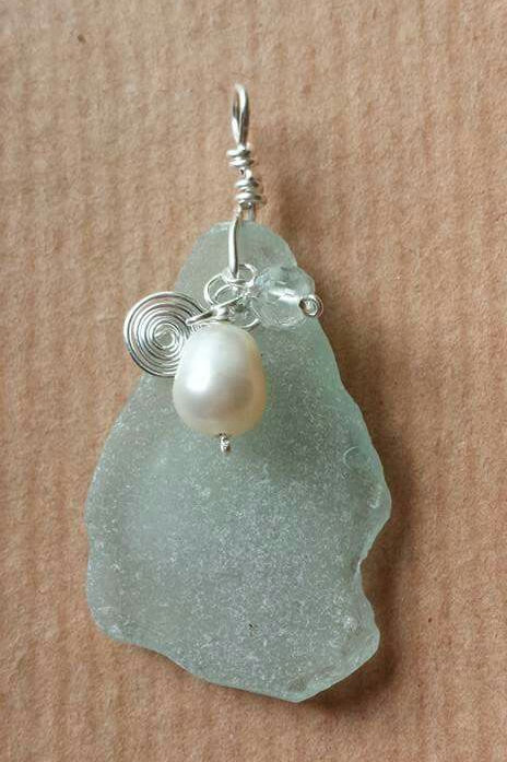 Seaglass Pendant-Making Experience