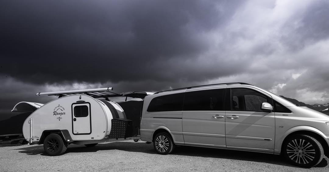 camping mit velo fahren