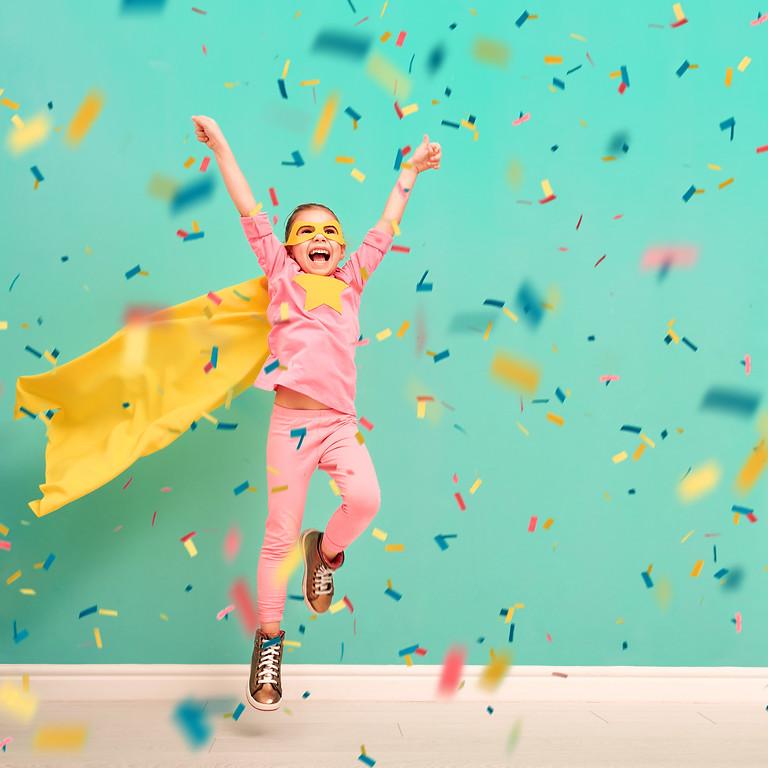 Super Girl After School Workshops 2021 for ages 7-9.