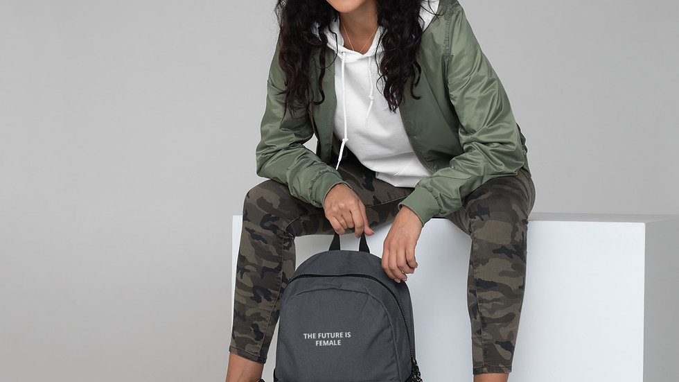 The Future is Female Champion Backpack