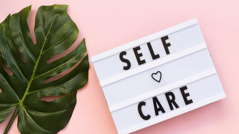Self-Care Workbook for Mums