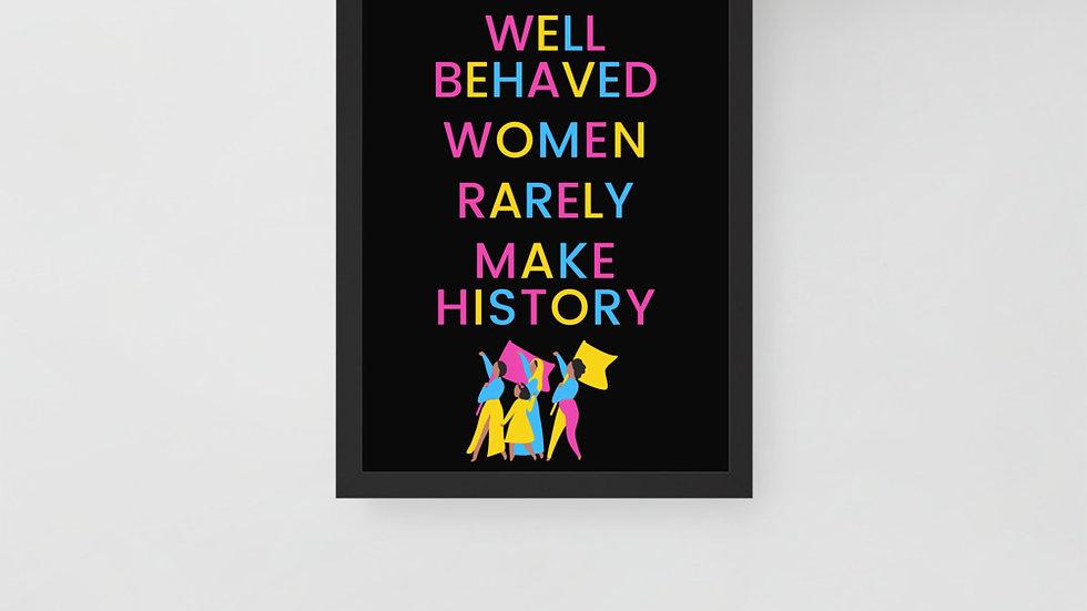 Framed Poster 30x40cm