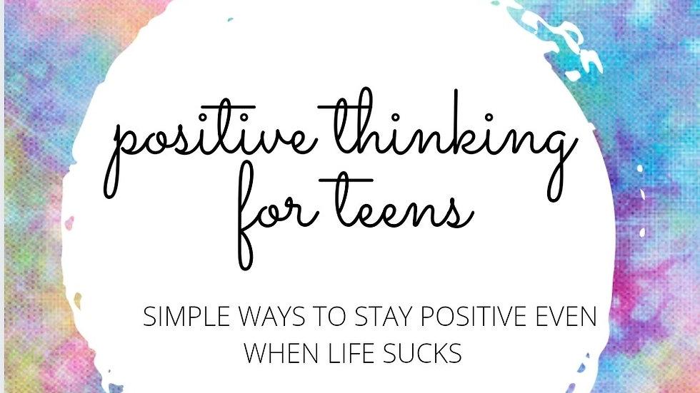 Teen Positive Thinking Journal