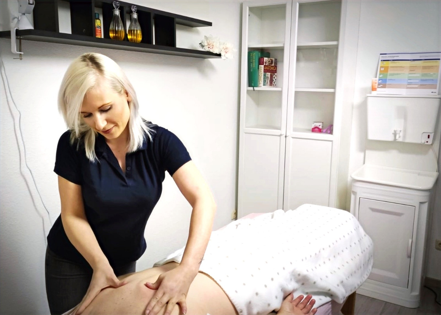 Massage/Behandlungsbereich