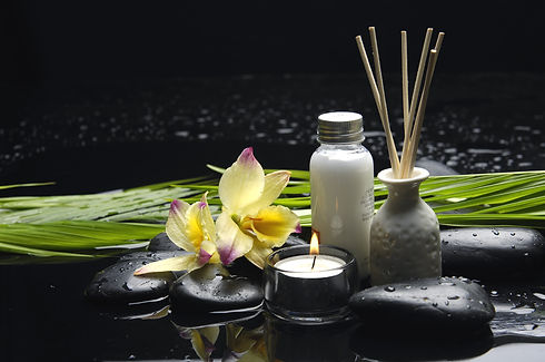 tranquil spa scene - Reed Diffuser and c