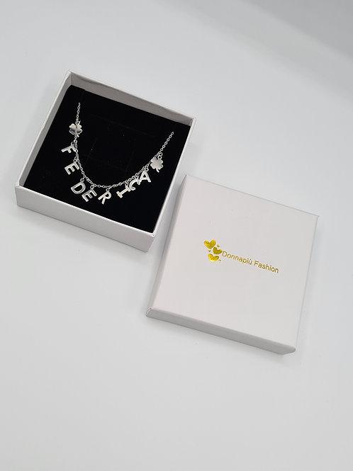 Collana personalizzata Argento/Oro