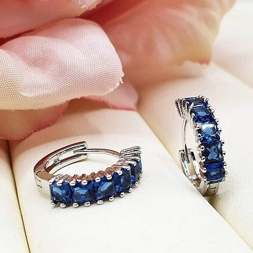 Mono Orecchino Blue