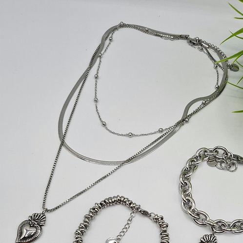 Collana 3 fili 🖤 sacro
