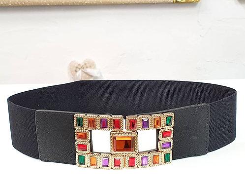 Cintura Elastica Multicolore