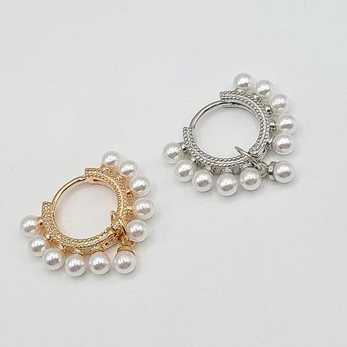 Mono Cerchio Perle/Borchie