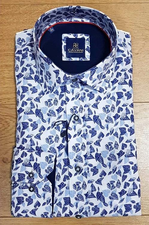 Blue Print Cavani Shirt CV 808 Blue/White