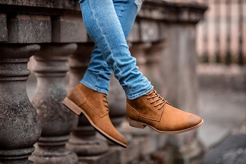 Hurricane Tan Lace Up Boot