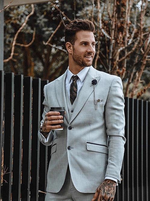 Caridi Beige 3 Piece Suit