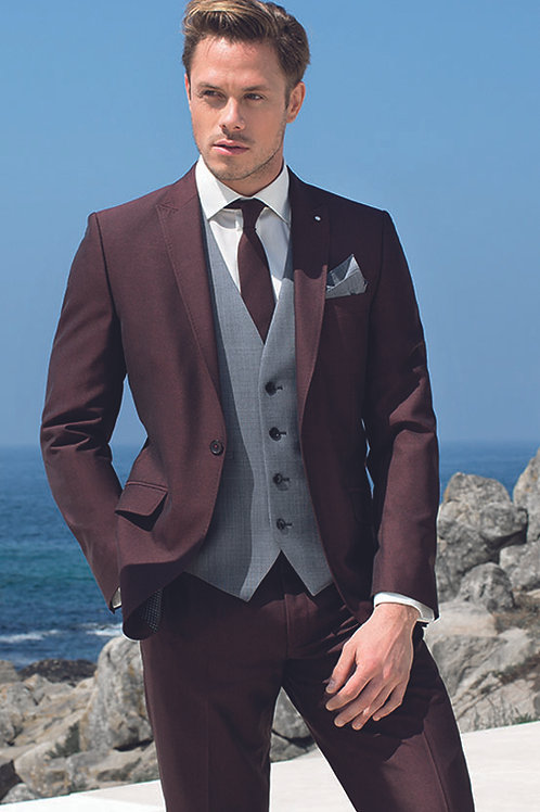 BURGUNDY SUIT (MIX and MATCH RANGE