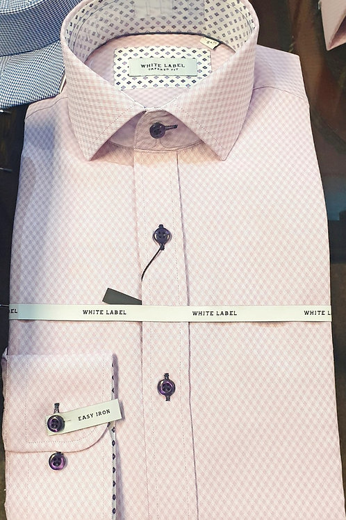 Pink Shirt by White Label 8318 Pink