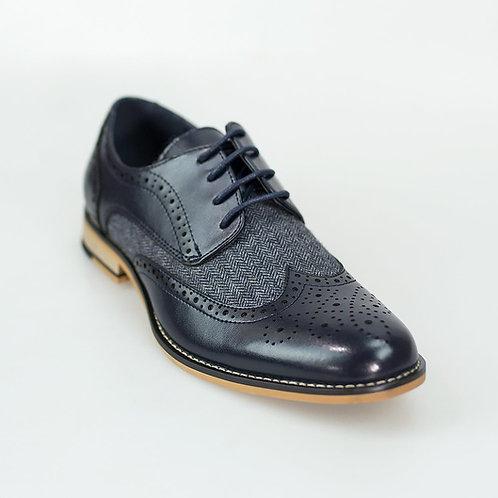 Horatio Navy Shoe