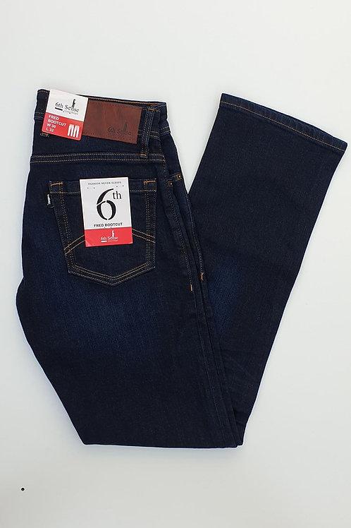 6th Sense Fred Bootcut Stonewash Jeans