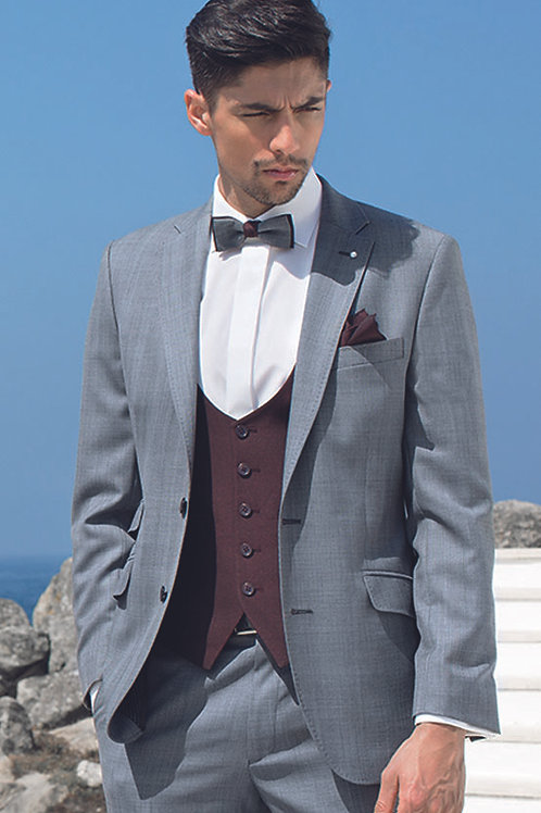GREY CHECK SUIT (MIX and MATCH RANGE