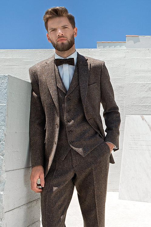 Brown FULL TWEED suit