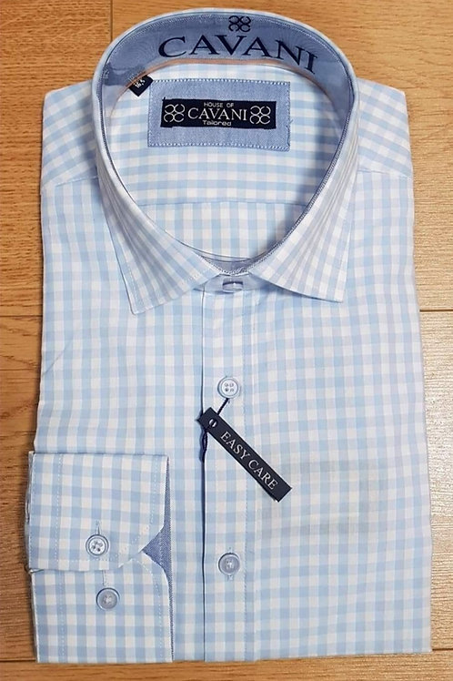 Cavani Blue Check Shirt