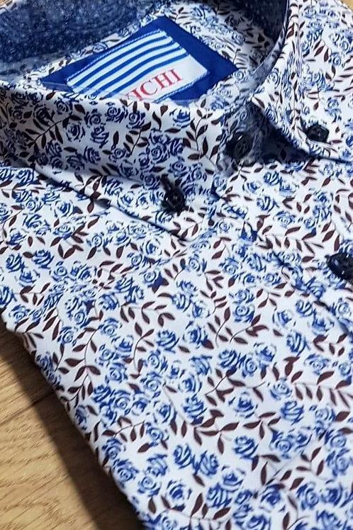 Leaf Print Shirt by Vichi Tot 1920