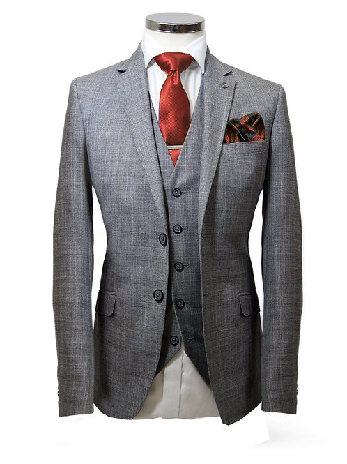 Vichi Grenada Grey 3 Piece Suit
