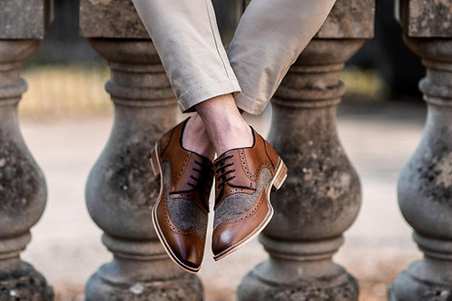 Rome Tan Leather Shoe
