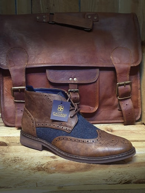 Curtis Brown Lace Up Boot
