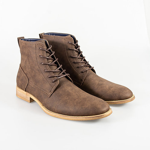 Hurricane Brown Lace Up Boot