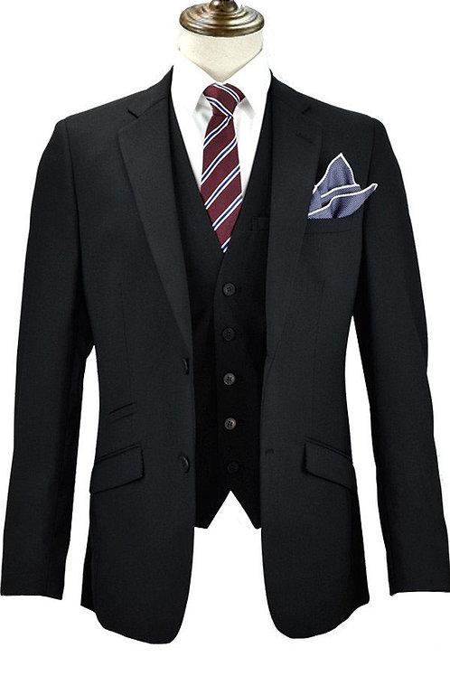 Black Slim Fit Suit Hire