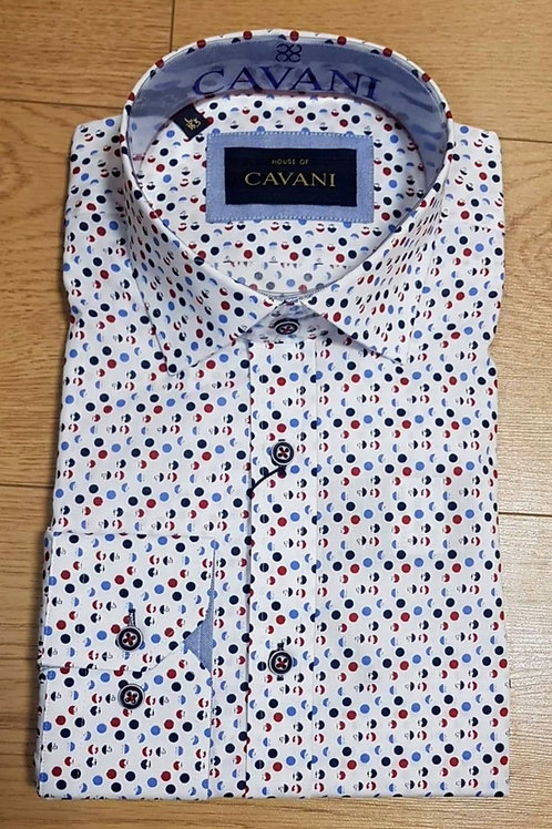 Cavani Shirt CV-654 Red