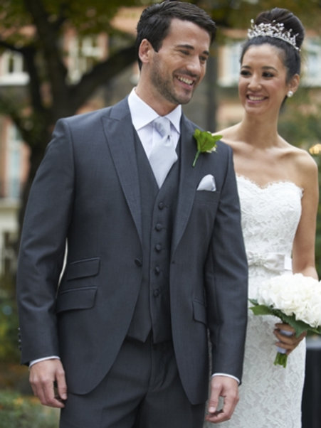 Charcoal Grey Mohair Suit