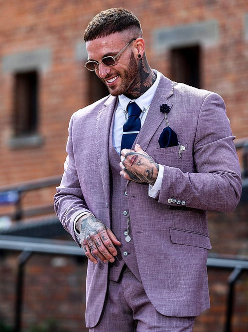 Miami Lilac 3 Piece Suit