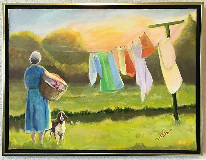 Laundry at Sunrise