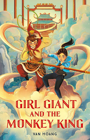 The cover for GIRL GIANT AND THE MONKEY KING