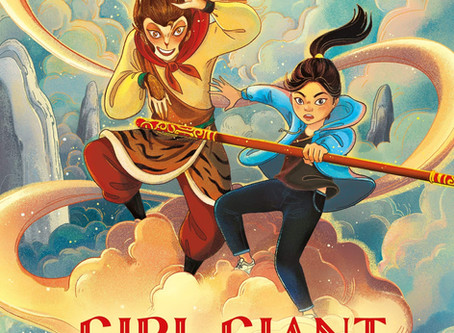 GIRL GIANT AND THE MONKEY KING Cover Reveal!