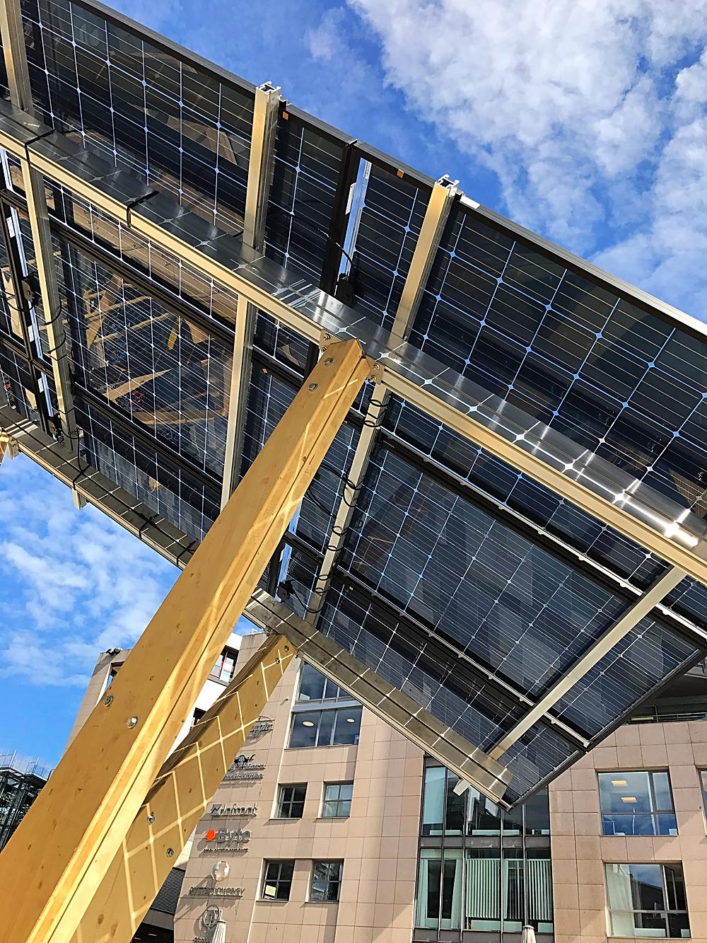 Solar charging at Aker Brygge