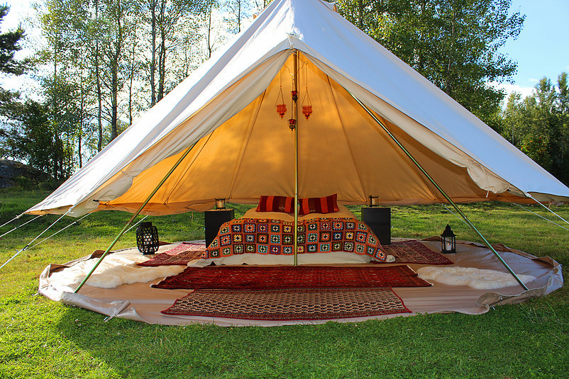 Glamping in Norway