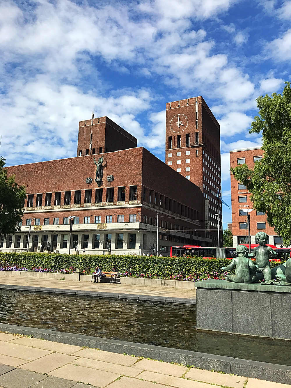 City Hall in Oslo, Norway