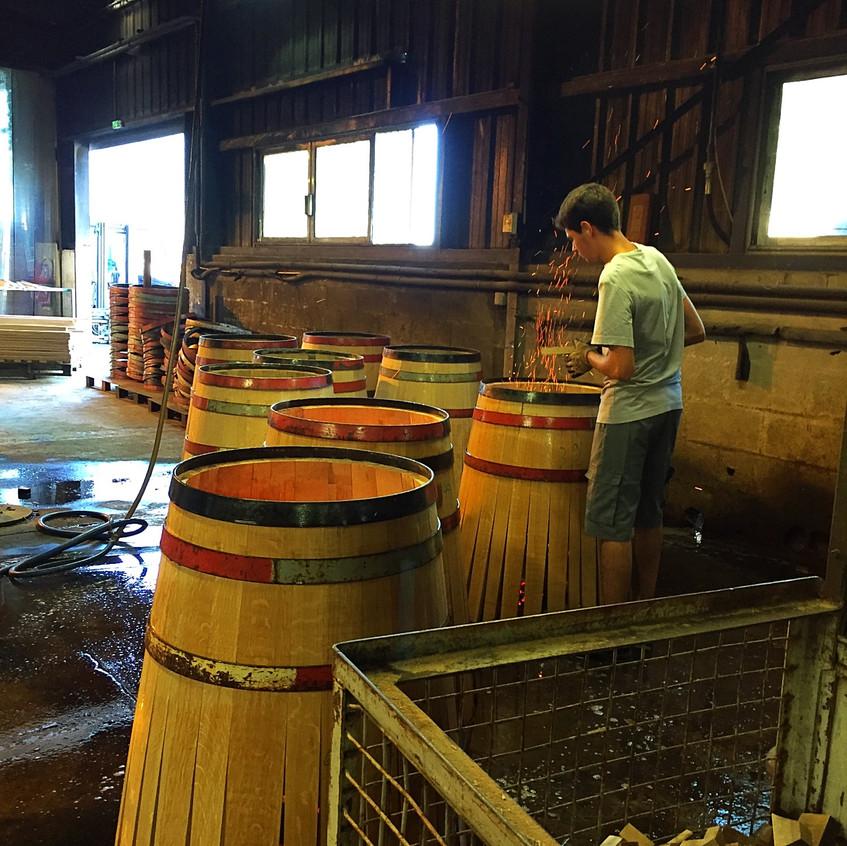Barrel making